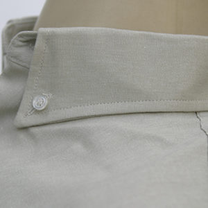 camisa-social-cinza-claro-uniforme-miniara